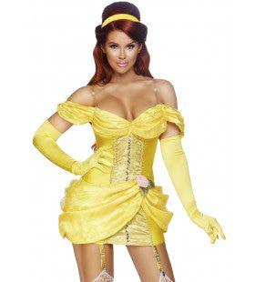 Beestachtig Lekkere Belle Vrouw Kostuum