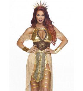 Arinna Sol Sunna Godin Van De Zon Vrouw Kostuum