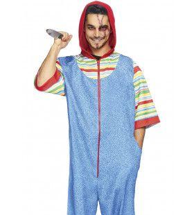 Moordpop Chucky Horror Man Kostuum