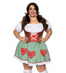 Beierse Hartverwarmer Tirol Plus Size Vrouw Kostuum