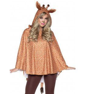 Steek Je Nek Uit Giraf Poncho Vrouw
