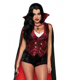 Bloeddorstige Vampier In De Zwoele Nacht Vrouw Kostuum