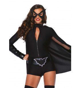 4delige Superheld Verkleedset Dames