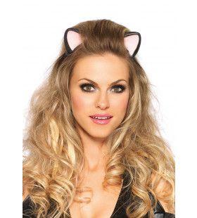 Haarband Met Latex Kattenoren
