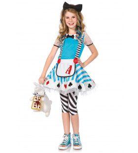 Alice In Wonderland Meisjes Jurk