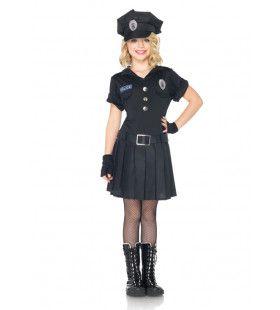 Keurig Meisjes Politiejurkje
