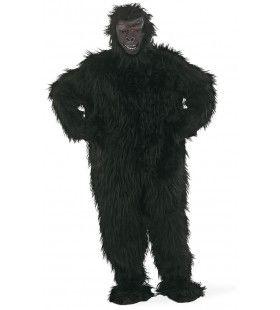 Zwarte Bos Gorilla Man Kostuum