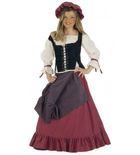 Middeleeuws Landmeisje Renate Rubens Kostuum