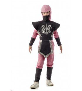 Fluwelen Handjes Harde Klappen Ninja Meisje Kostuum