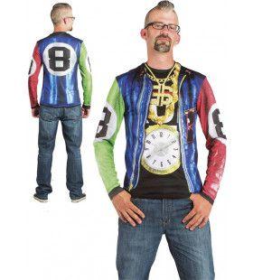 Bescheiden Klokje Hip Hop T-Shirt       Man