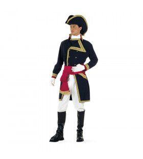 Britse Zeeheld Nelson Heeser Van De Zee Man Kostuum