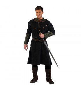 Robuuste Ridder Rodrigo Middeleeuwen Man Kostuum
