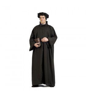 Reformatie Theoloog Maarten Luther Man Kostuum