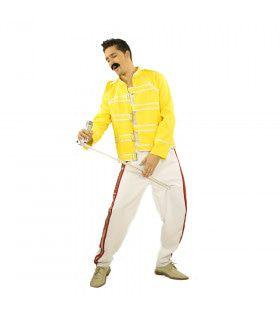 Popster Freddy Mercury Magic Tour Man Kostuum