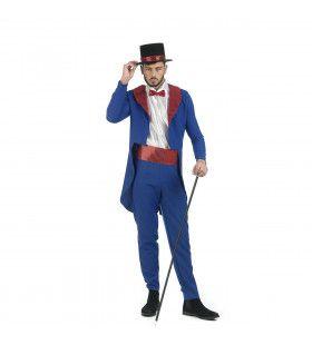 Showmaster Las Vegas Voorstelling Man Kostuum