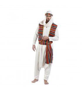 Bedouin Arabische Schiereiland Badr Ben Qabda Man Kostuum