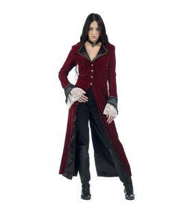 Zacht Zuigende Vampier Vlada Vrouw Kostuum
