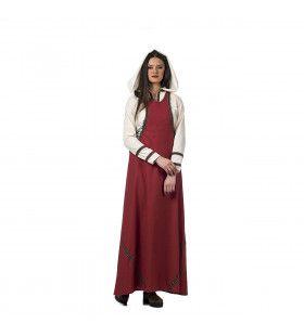 Middeleeuwse Markt Koopvrouw Geertruida Kostuum