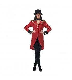 Opperspreekstalmeester Circus Boltini Vrouw Kostuum