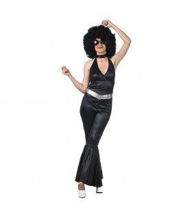 Disco Diva Amanda Lear Vrouw Kostuum