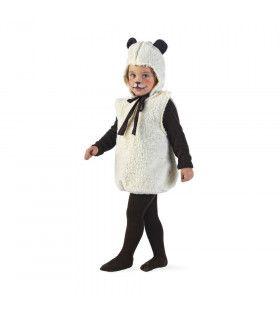 Hei En Wei Schaap Vol Wol Kind Kostuum