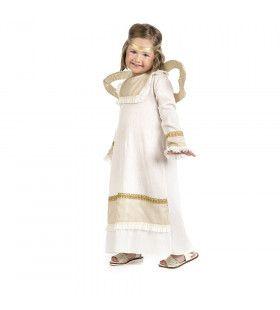 Rechtstreeks Uit De Hemel Neergedaalde Engel Meisje Kostuum