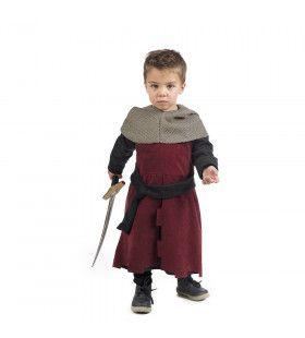Kleine Rode Ridder Roel Jongen Kostuum