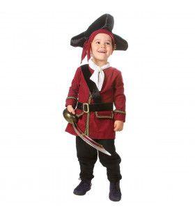 Piraat Onbewoond Schateiland Jongen Kostuum