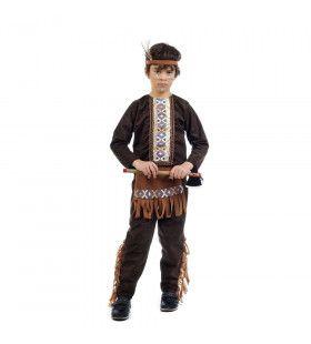 Zoevende Tomahawk Apache Indiaan Jongen Kostuum