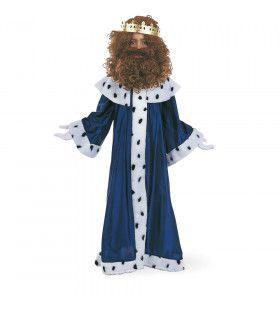 Koning Melchior Op Weg Naar Bethlehem Kerst Jongen Kostuum