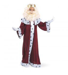 Koning Caspar Op Weg Naar Bethlehem Kerst Jongen Kostuum