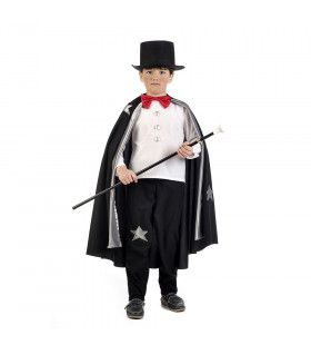 Konijn Uit De Hoge Hoed Circus Goochelaar Jongen Kostuum