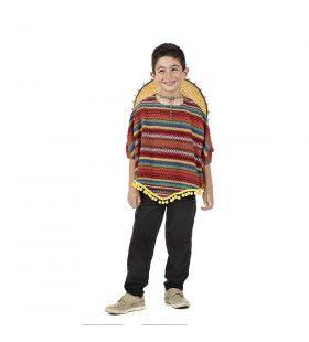 Pedrito Pistola Mexicaanse Bendeleider Kind Kostuum