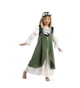 Gravin Van Buren Middeleeuwen Meisje Kostuum