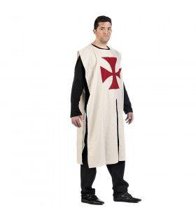 Kruisvaarders Tuniek Godfried Man Kostuum