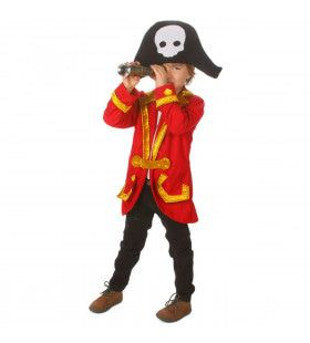 Schatkisten Vol Zilver Piet Hein Piraat Kind Kostuum