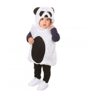 Kleine Luie Panda Kind Kostuum
