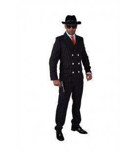 Vuile Karweitjes Gangster Mario Man Kostuum