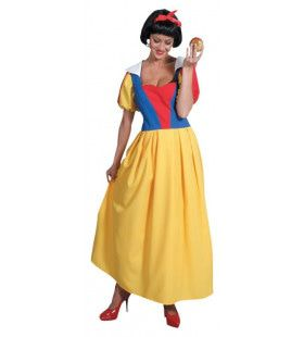 Klassiek Sprookje Sneeuwwitje Vrouw Kostuum