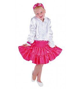 Dans En Ballet Rok Selena Roze Meisje