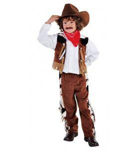 Revolver Held Wilde Westen Jongen Kostuum