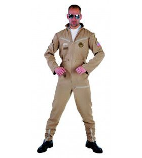 Piloot Straaljager Mach 3 Man Kostuum