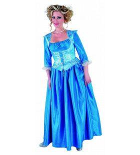 Barones Bellefleur Vrouw Kostuum