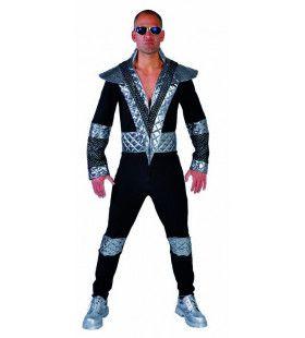 Glamrock Space Traveller Man Kostuum