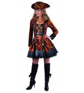 Aristocratisch Victoriaans Steampunk Vrouw Kostuum