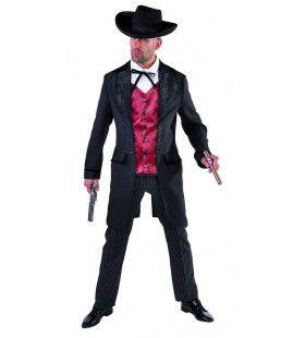 Poker Man Saloon Wilde Westen Kostuum