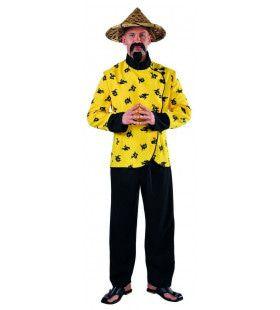 Gele Rivier Chinees Man Kostuum