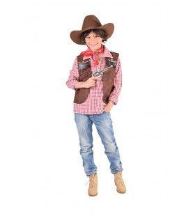 Cowboy Vest Smoking Gun Jongen