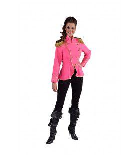 Cavalerie Uniform Jas Roze Vrouw
