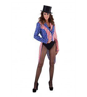 Slipjas Stars And Stripes Make America Great Again Vrouw